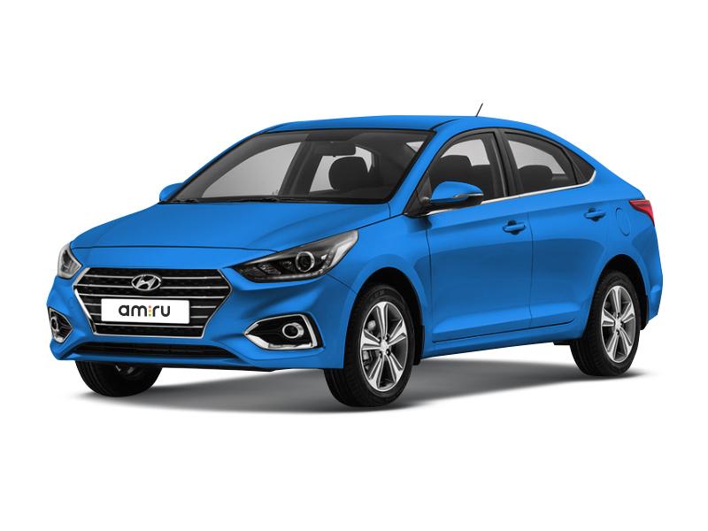 Новый авто Hyundai Solaris, голубой , 2017 года выпуска, цена 809 900 руб. в автосалоне  ()