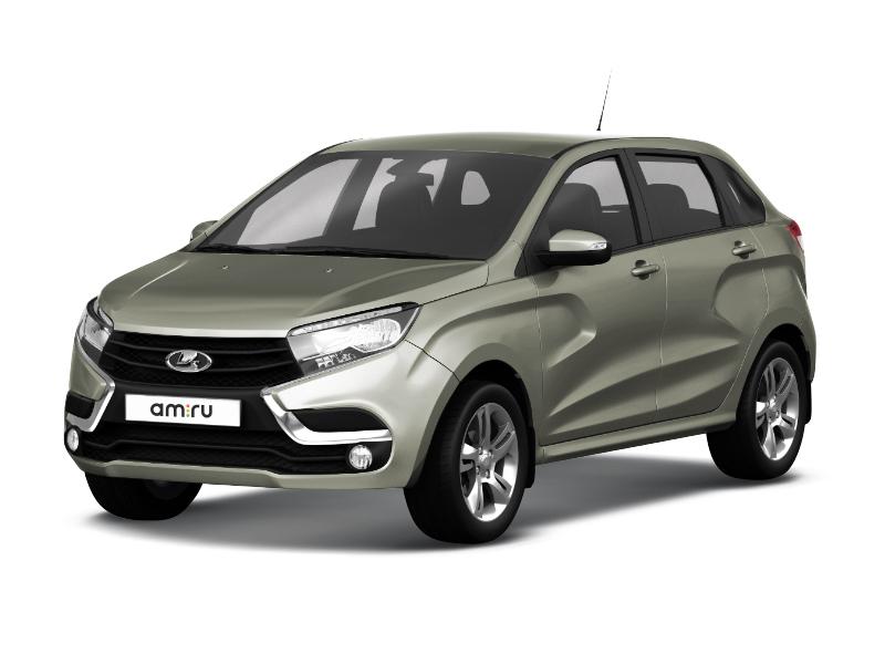 Новый авто ВАЗ (Lada) XRAY, серый , 2017 года выпуска, цена 660 900 руб. в автосалоне  ()