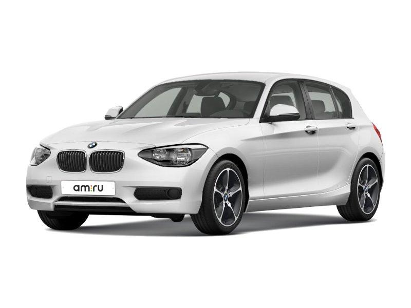 Подержанный BMW 1 серия, отличное состояние, белый , 2012 года выпуска, цена 850 000 руб. в Ульяновской области