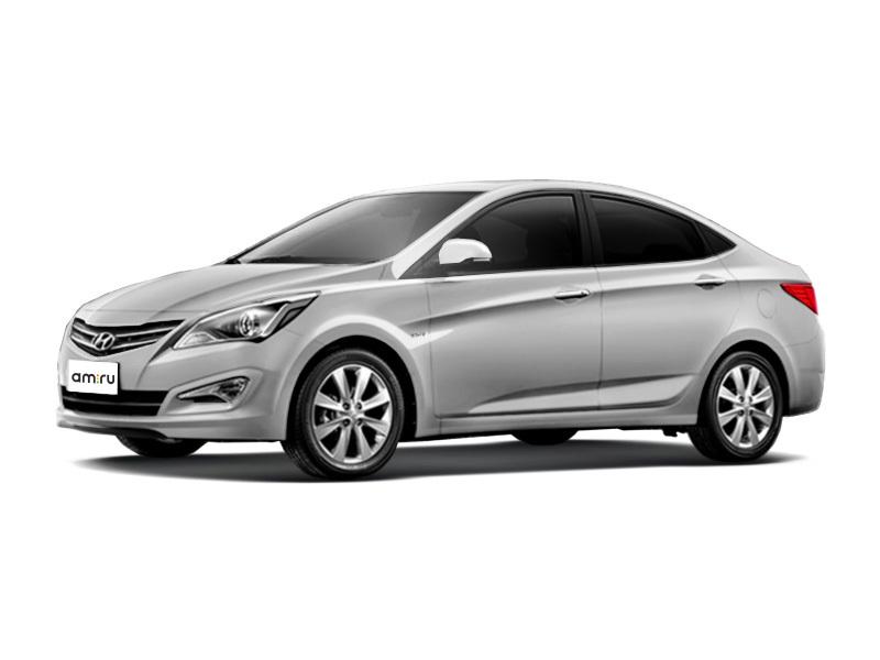 Новый авто Hyundai Solaris, серебряный металлик, 2016 года выпуска, цена 780 000 руб. в автосалоне  ()