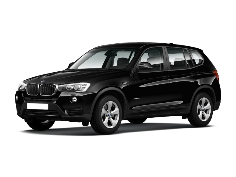 Новый авто BMW X3, черный металлик, 2017 года выпуска, цена 2 950 000 руб. в автосалоне АвтоПремиум (Курск, ул. Энгельса, д. 173Д)