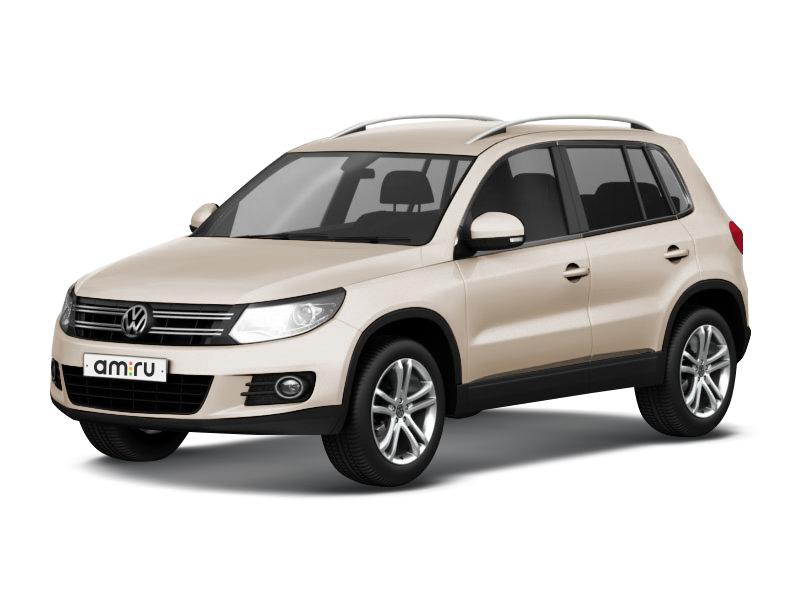 Новый авто Volkswagen Tiguan, бежевый металлик, 2017 года выпуска, цена 2 091 100 руб. в автосалоне ИнтерАвто (Рязань, ш. Московское, д. 24А)
