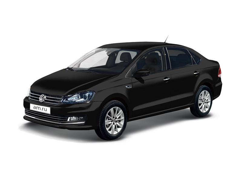 Новый авто Volkswagen Polo, черный металлик, 2017 года выпуска, цена 785 490 руб. в автосалоне Аксель-Архангельск (Архангельск, ш. Окружное, д. 5)