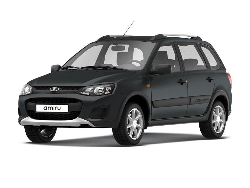 Новый авто ВАЗ (Lada) Kalina, серый , 2017 года выпуска, цена 524 100 руб. в автосалоне  ()