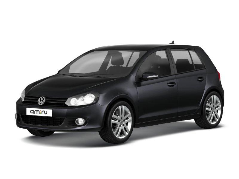 Подержанный Volkswagen Golf, отличное состояние, черный , 2011 года выпуска, цена 550 000 руб. в Челябинской области