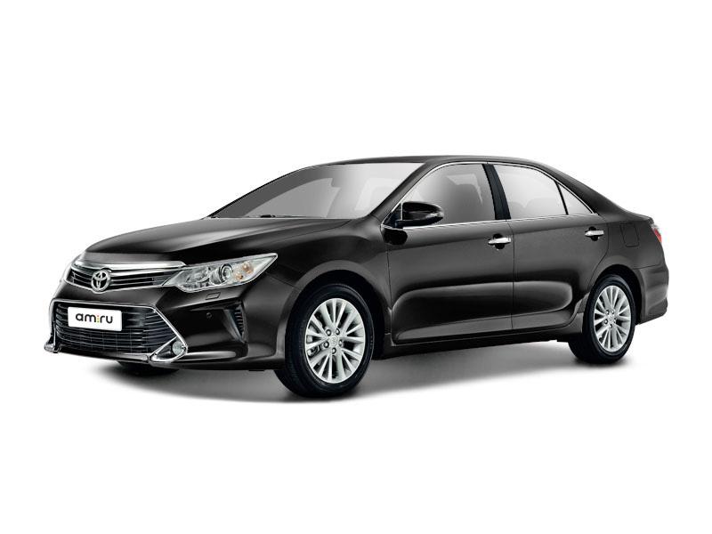 Новый авто Toyota Camry, черный металлик, 2016 года выпуска, цена 1 621 000 руб. в автосалоне  ()