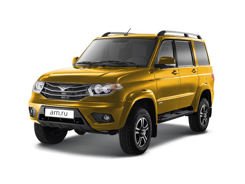 Подержанный УАЗ Patriot, хорошее состояние, золотой , 2015 года выпуска, цена 800 000 руб. в ао. Ханты-Мансийском Автономном округе - Югре