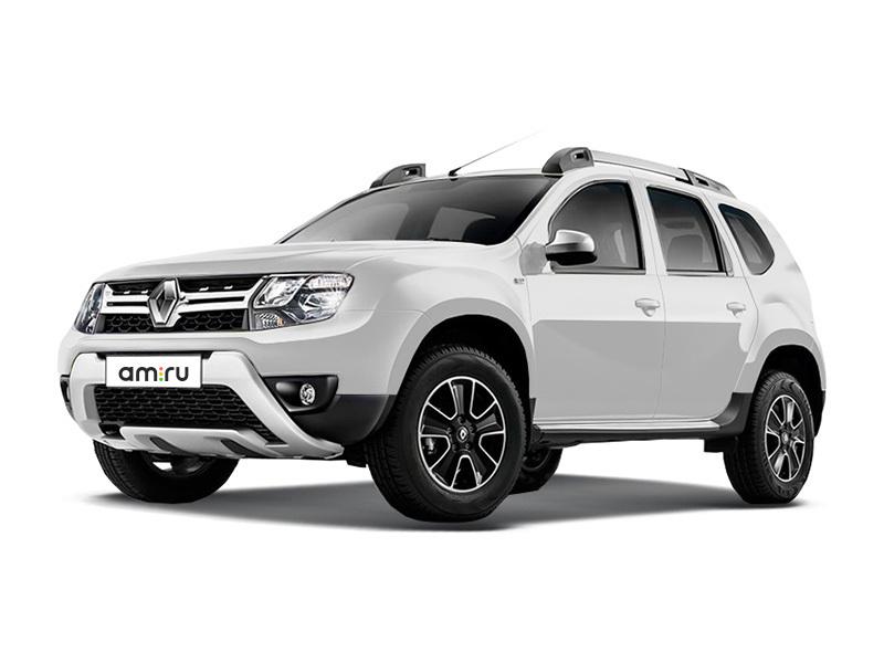 Новый авто Renault Duster, белый , 2017 года выпуска, цена 947 970 руб. в автосалоне Автомир Renault Сургут (Сургут, ул. Маяковского, д. 42)