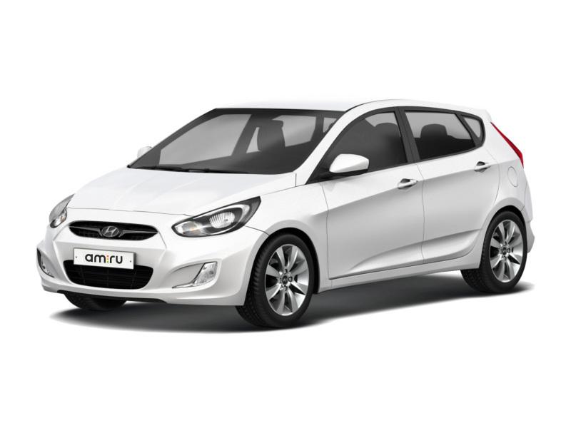 Hyundai Solaris с пробегом, белый , хорошее состояние, 2011 года выпуска, цена 420 000 руб. в автосалоне  ()