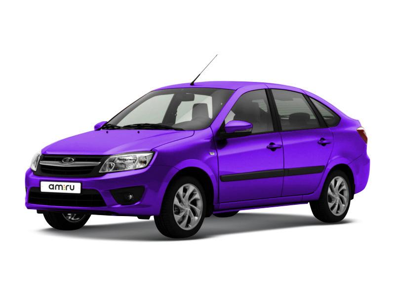 Новый авто ВАЗ (Lada) Granta, фиолетовый , 2017 года выпуска, цена 462 700 руб. в автосалоне  ()