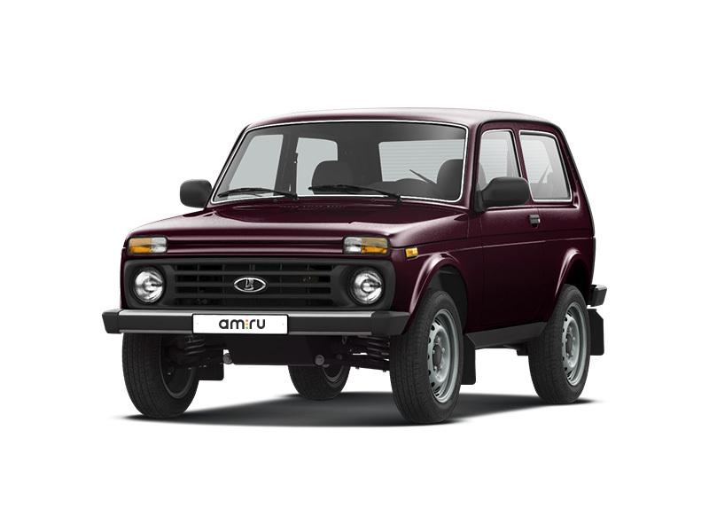 Подержанный ВАЗ (Lada) 4x4, хорошее состояние, вишневый , 2011 года выпуска, цена 200 000 руб. в Твери