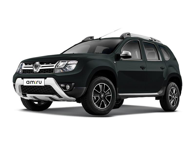 Новый авто Renault Duster, черный металлик, 2017 года выпуска, цена 1 010 970 руб. в автосалоне Автомир Renault Сургут (Сургут, ул. Маяковского, д. 42)