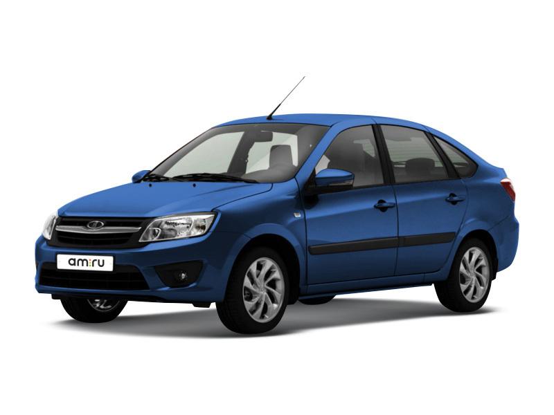 Новый авто ВАЗ (Lada) Granta, синий металлик, 2017 года выпуска, цена 414 900 руб. в автосалоне Симбирск-Лада (Ульяновск, пр-кт Созидателей, д. 27)