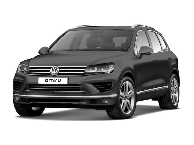 Новый авто Volkswagen Touareg, серый металлик, 2017 года выпуска, цена 3 189 500 руб. в автосалоне Евротехцентр на Герцена (Омск, ул. Герцена, д. 60/2)