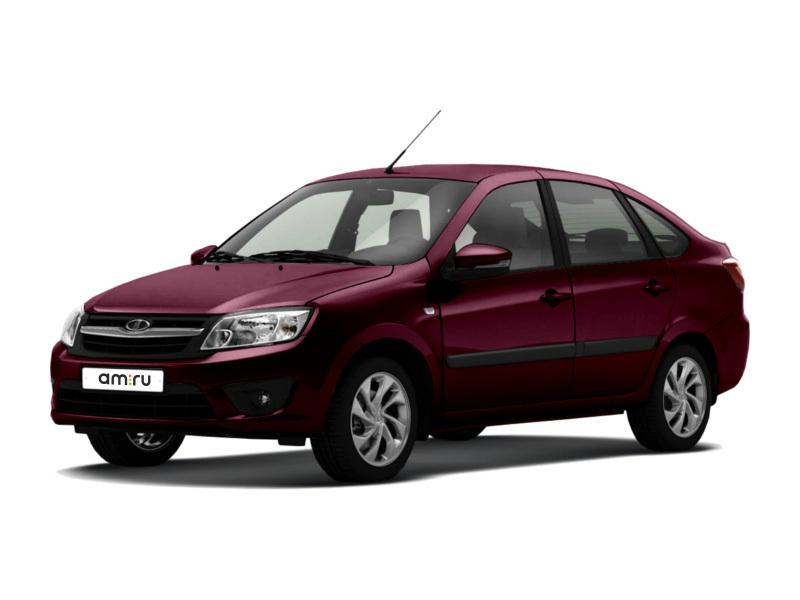 Новый авто ВАЗ (Lada) Granta, вишневый , 2017 года выпуска, цена 414 200 руб. в автосалоне  ()