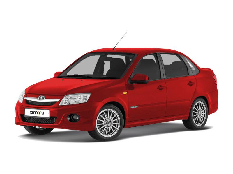 Новый авто ВАЗ (Lada) Granta, красный , 2017 года выпуска, цена 615 900 руб. в автосалоне КавВАЗинтерСервис (Лермонтов, ш. Черкесское, д. 5)
