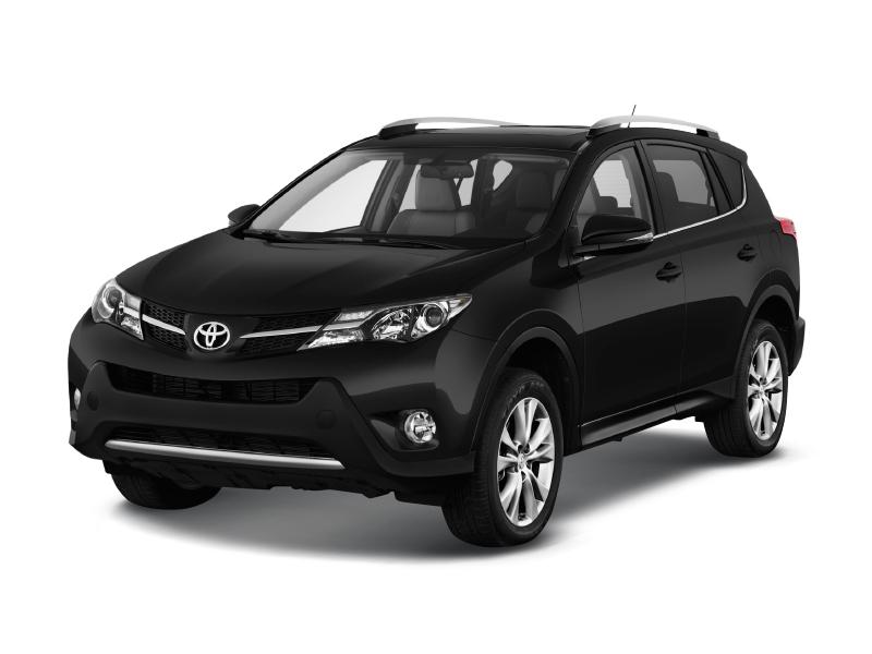 Toyota RAV4 с пробегом, черный металлик, отличное состояние, 2014 года выпуска, цена 1 319 000 руб. в автосалоне  ()