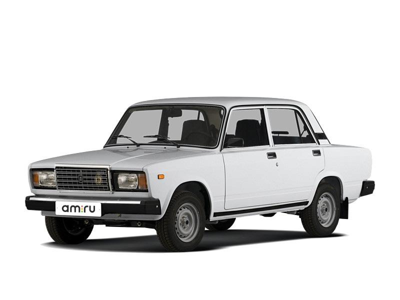 Подержанный ВАЗ (Lada) 2107, хорошее состояние, белый , 1995 года выпуска, цена 35 000 руб. в Челябинской области