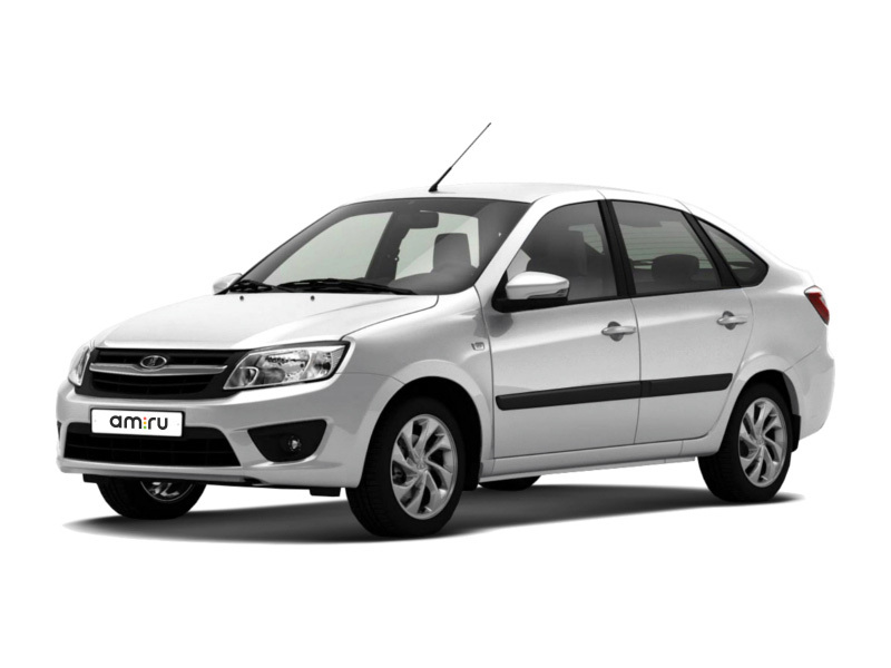 Новый авто ВАЗ (Lada) Granta, белый , 2017 года выпуска, цена 440 600 руб. в автосалоне  ()