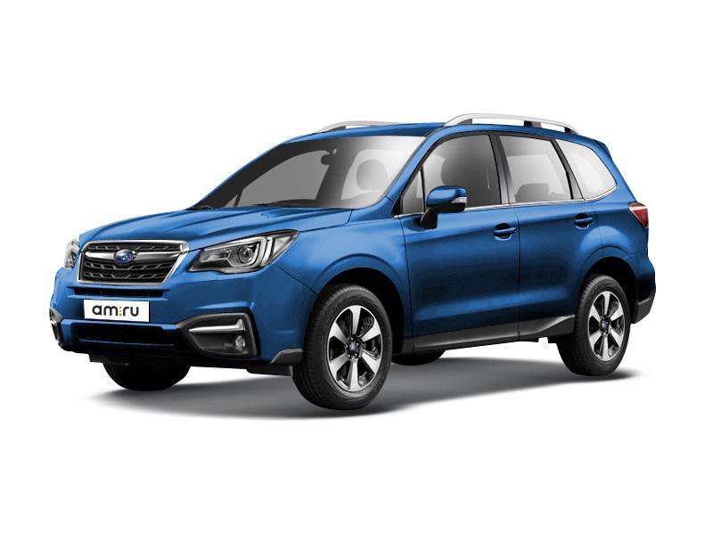 Новый авто Subaru Forester, синий металлик, 2016 года выпуска, цена 2 179 900 руб. в автосалоне  ()