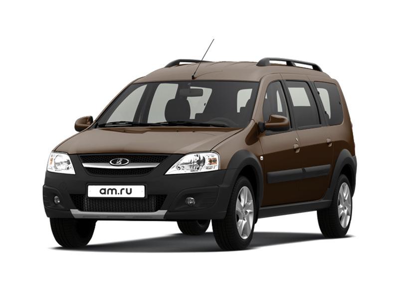 Новый авто ВАЗ (Lada) Largus, коричневый , 2017 года выпуска, цена 699 900 руб. в автосалоне  ()