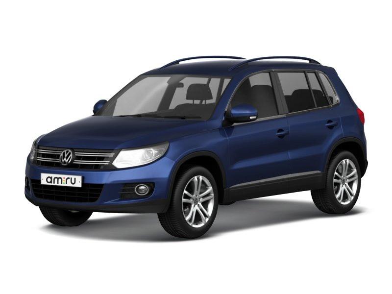 Новый авто Volkswagen Tiguan, синий металлик, 2017 года выпуска, цена 2 126 000 руб. в автосалоне ИнтерАвто (Рязань, ш. Московское, д. 24А)