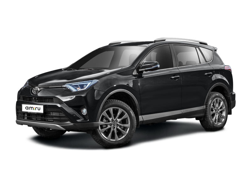Новый авто Toyota RAV4, черный металлик, 2017 года выпуска, цена 2 075 000 руб. в автосалоне Тойота Центр Курск (Курск, пр-кт Победы, д. 9)