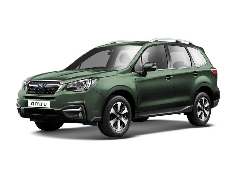 Новый авто Subaru Forester, зеленый металлик, 2017 года выпуска, цена 1 859 900 руб. в автосалоне  ()