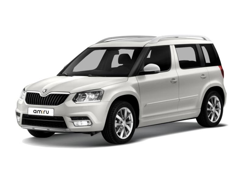 Новый авто Skoda Yeti, серебряный металлик, 2017 года выпуска, цена 1 136 300 руб. в автосалоне Авто-Славия (Калуга, ул. Автомобильная, д. 2)