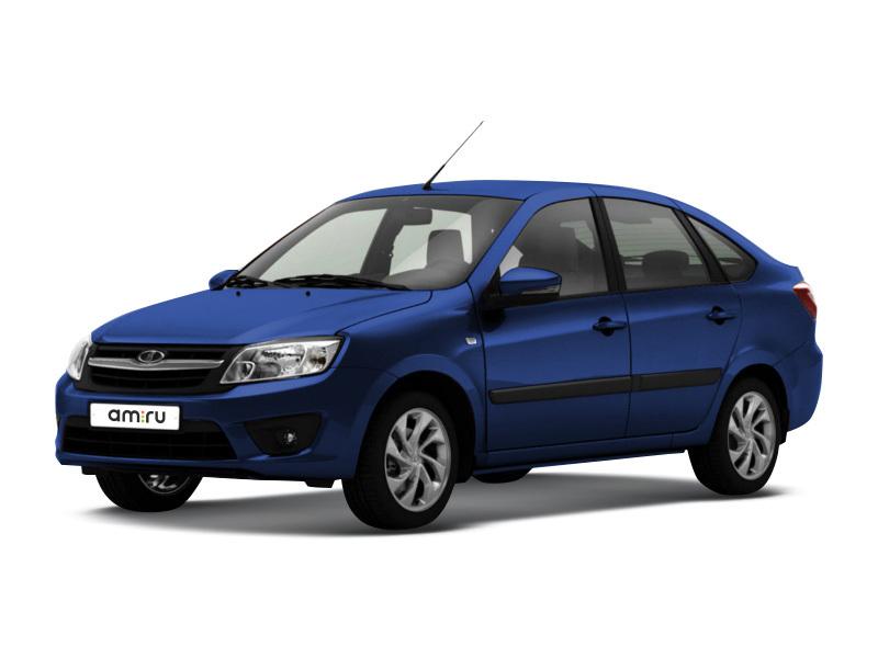 Новый авто ВАЗ (Lada) Granta, синий , 2017 года выпуска, цена 440 600 руб. в автосалоне  ()