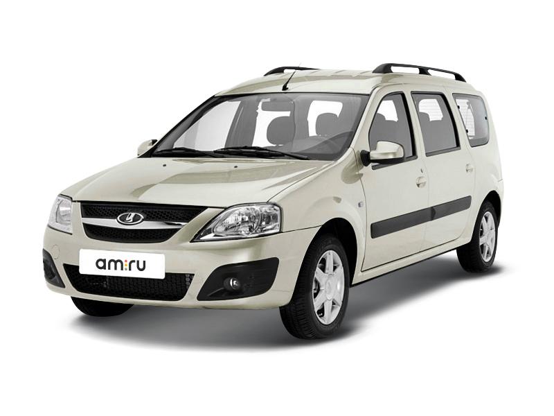 Новый авто ВАЗ (Lada) Largus, серый , 2017 года выпуска, цена 581 900 руб. в автосалоне  ()