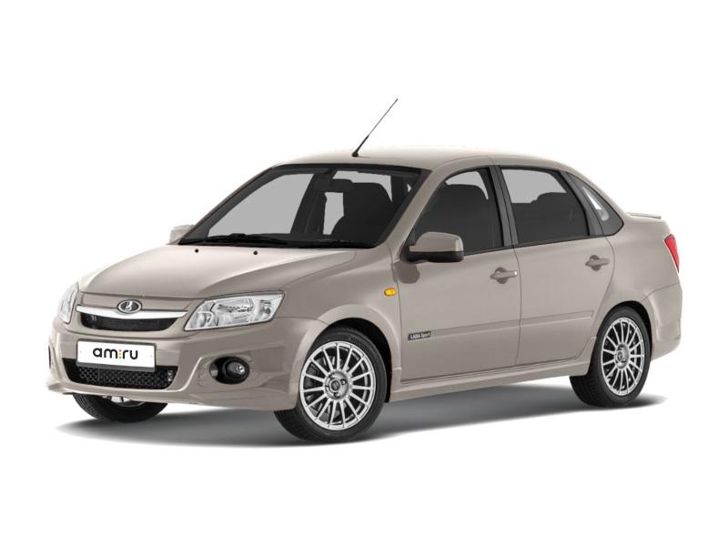 Новый авто ВАЗ (Lada) Granta, серебряный , 2016 года выпуска, цена 592 000 руб. в автосалоне  ()