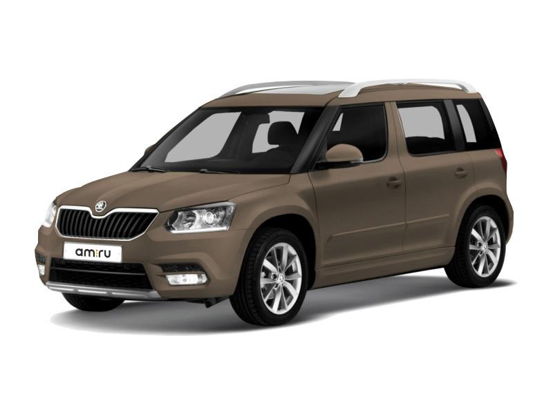 Новый авто Skoda Yeti, коричневый металлик, 2017 года выпуска, цена 1 386 300 руб. в автосалоне Интер Кар (Тверь, пр-кт 50 лет Октября, д. 5)