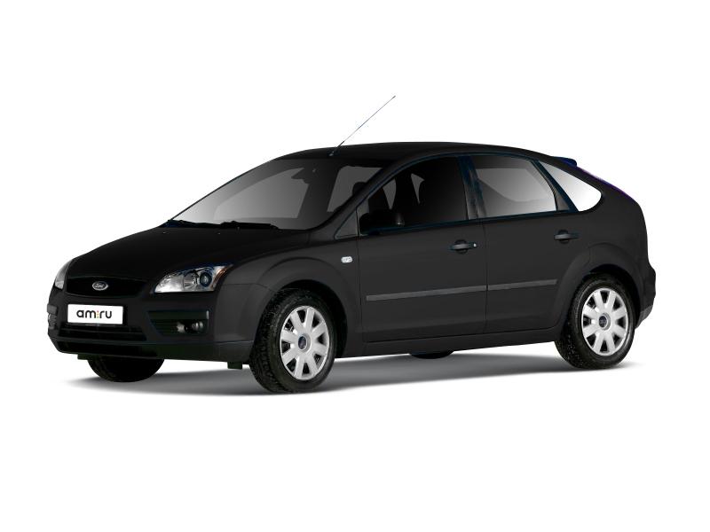 Подержанный Ford Focus, отличное состояние, черный , 2007 года выпуска, цена 320 000 руб. в Крыму