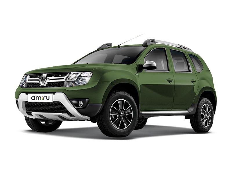 Новый авто Renault Duster, зеленый металлик, 2017 года выпуска, цена 875 960 руб. в автосалоне Автомир Renault Сургут (Сургут, ул. Маяковского, д. 42)
