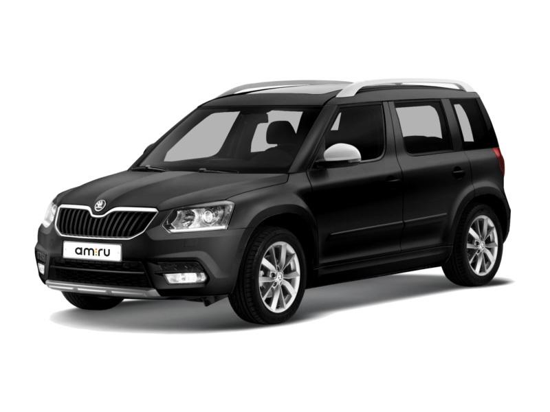 Новый авто Skoda Yeti, черный металлик, 2017 года выпуска, цена 1 510 900 руб. в автосалоне  ()