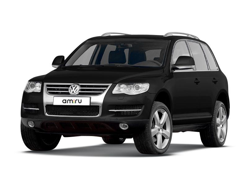 Подержанный Volkswagen Touareg, отличное состояние, черный , 2009 года выпуска, цена 999 000 руб. в Саратове