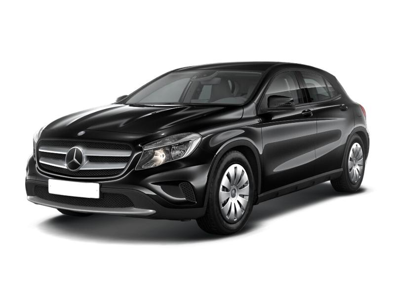 Новый авто Mercedes-Benz GLA-Класс, черный металлик, 2015 года выпуска, цена 1 800 000 руб. в автосалоне  ()