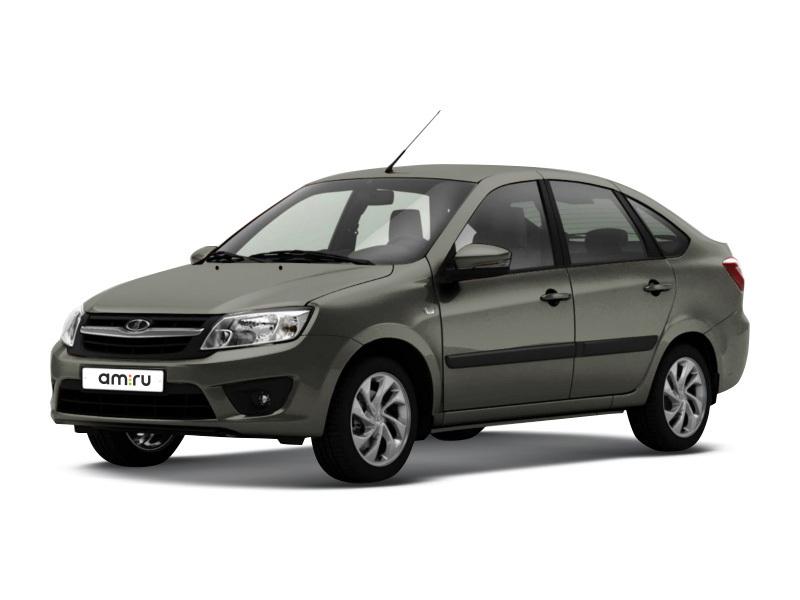 Новый авто ВАЗ (Lada) Granta, серый , 2017 года выпуска, цена 440 600 руб. в автосалоне  ()