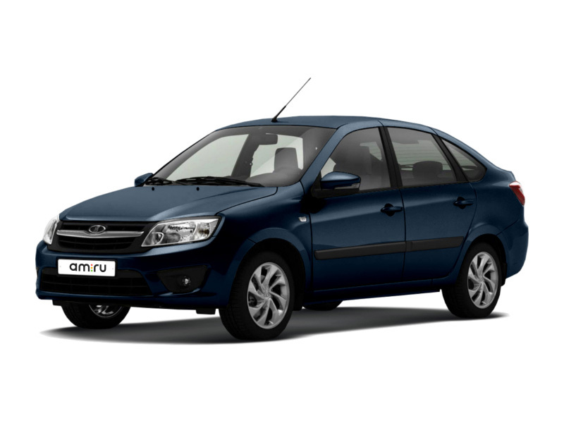 Новый авто ВАЗ (Lada) Granta, синий , 2017 года выпуска, цена 533 200 руб. в автосалоне  ()