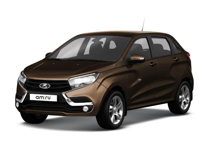 Новый авто ВАЗ (Lada) XRAY, коричневый , 2017 года выпуска, цена 599 900 руб. в автосалоне  ()