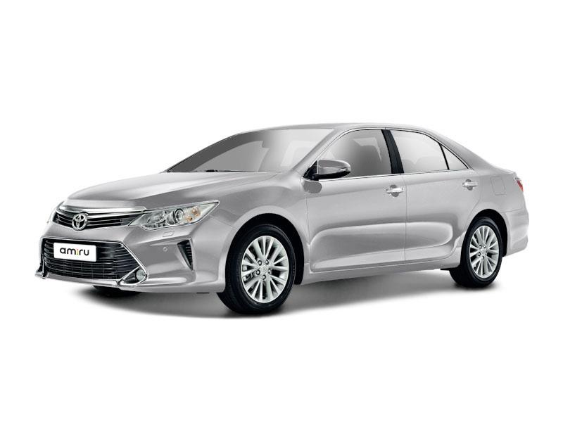 Новый авто Toyota Camry, серебряный , 2017 года выпуска, цена 1 731 000 руб. в автосалоне  ()