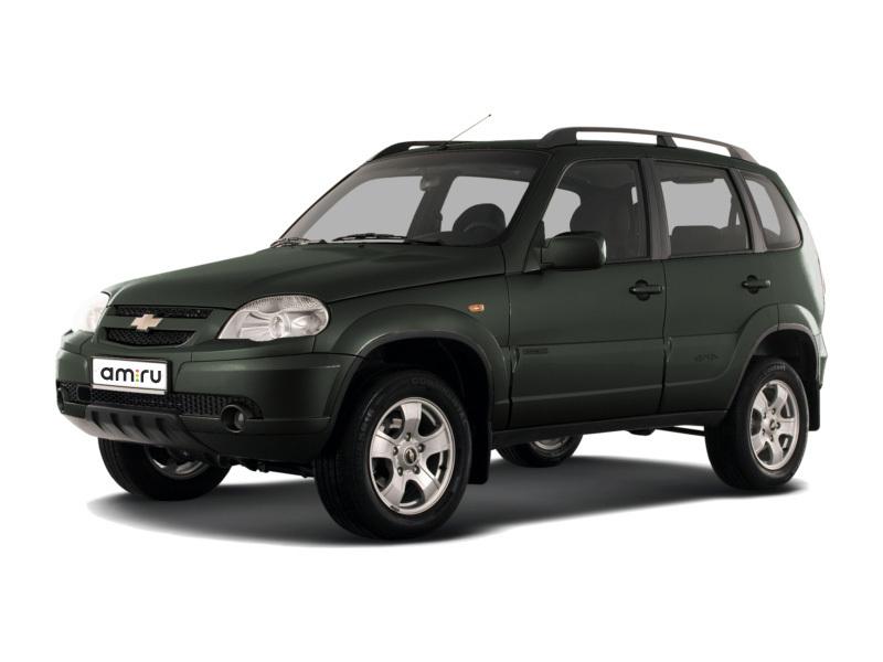 Подержанный Chevrolet Niva, отличное состояние, зеленый металлик, 2015 года выпуска, цена 530 000 руб. в Томской области