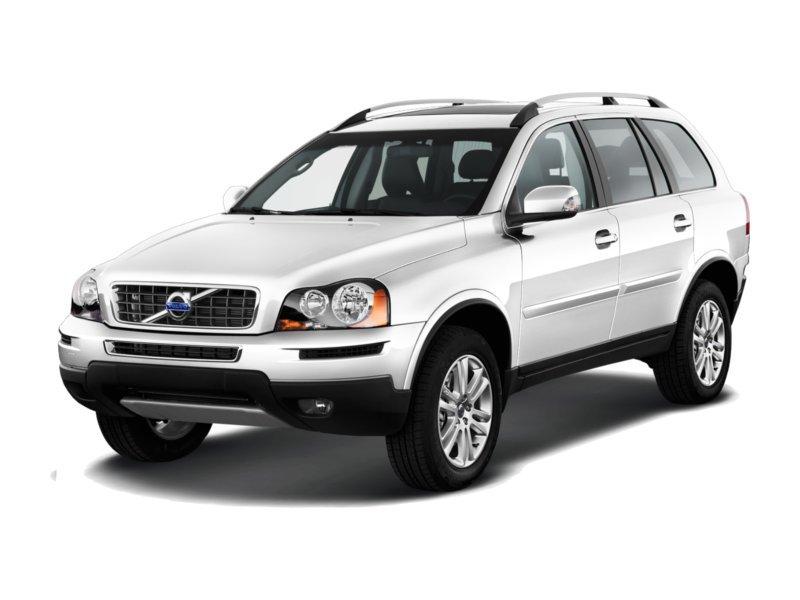 Подержанный Volvo XC90, хорошее состояние, белый , 2008 года выпуска, цена 900 000 руб. в ао. Ханты-Мансийском Автономном округе - Югре