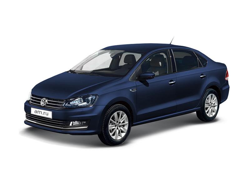 Новый авто Volkswagen Polo, синий металлик, 2017 года выпуска, цена 723 490 руб. в автосалоне Аксель-Архангельск (Архангельск, ш. Окружное, д. 5)