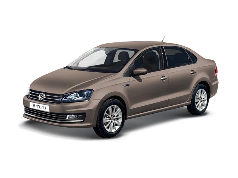 Новый авто Volkswagen Polo, бежевый металлик, 2017 года выпуска, цена 791 480 руб. в автосалоне ИнтерАвто (Рязань, ш. Московское, д. 24А)