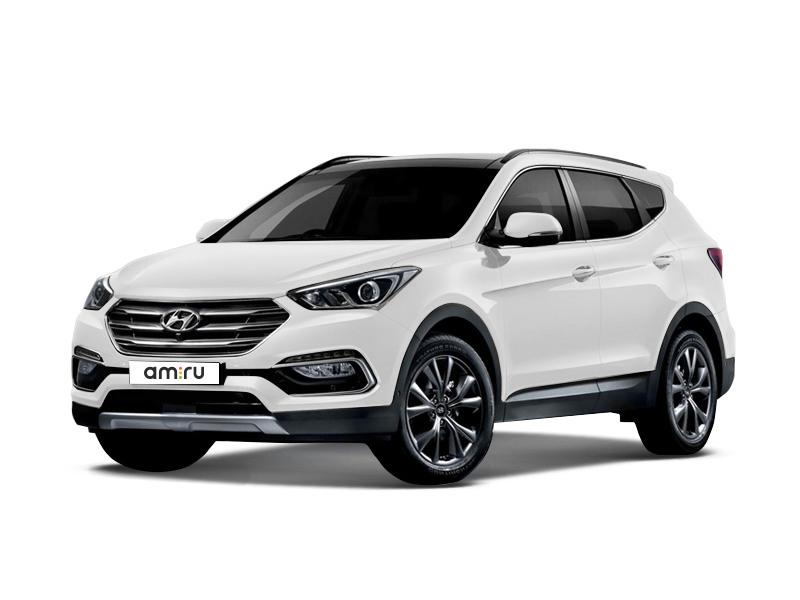 Новый авто Hyundai Santa Fe, белый , 2016 года выпуска, цена 2 181 000 руб. в автосалоне Евразия плюс (Омск, ул. Димитрова, д. 75)