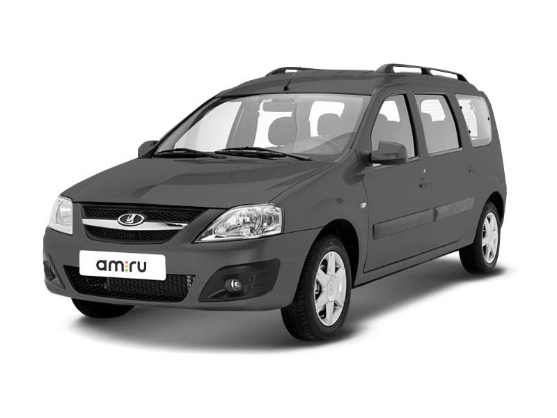 Новый авто ВАЗ (Lada) Largus, серый металлик, 2017 года выпуска, цена 617 900 руб. в автосалоне  ()
