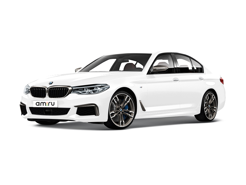 Новый авто BMW 5 серия, белый металлик, 2017 года выпуска, цена 3 090 000 руб. в автосалоне АвтоПремиум (Курск, ул. Энгельса, д. 173Д)