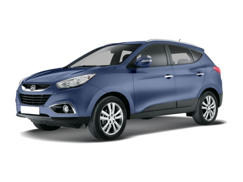 Подержанный Hyundai ix35, отличное состояние, синий металлик, 2013 года выпуска, цена 980 000 руб. в ао. Ханты-Мансийском Автономном округе - Югре